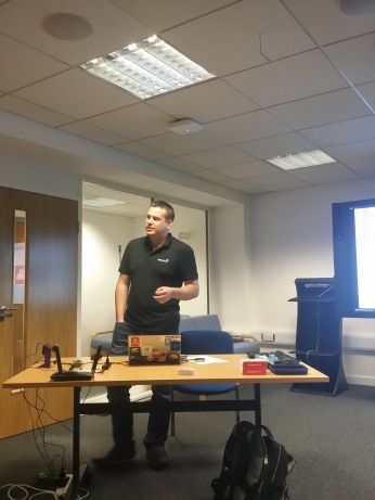 In Cardiff for the MS MeetUp