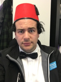 SQLBits 2018 as Tommy Cooper - Magic Theme!