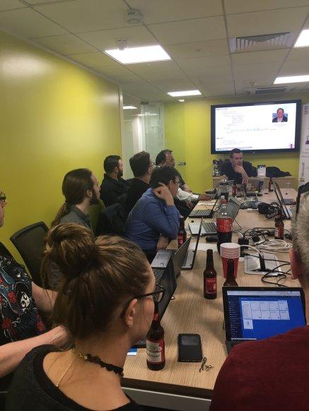 At the Nottingham Dev Group talking about U-SQL