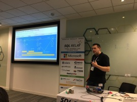 SQL Relay in Reading at the Microsoft TVP Campus
