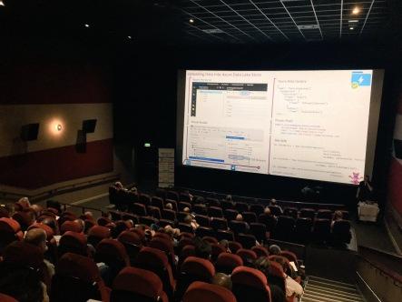 SQL Relay 2017 at the Birmingham Odeon Cinema