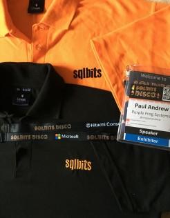 All the hats at SQLBits