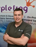 Professional Photo Shoot in my previous role at Purple Frog