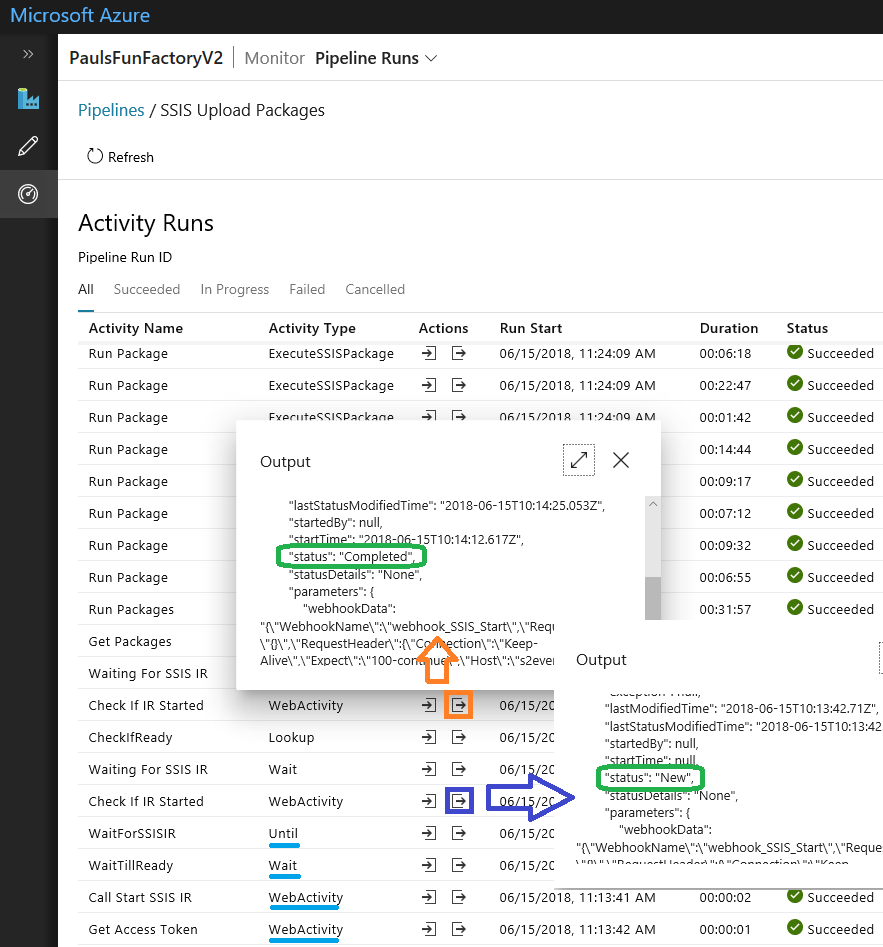How To Control the SSIS IR From Your ADFv2 Pipelines – Start/Stop