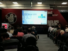 Big Data London, Nov18 at the London Olympia. Talking about SQL Server 2019 Big Data Clusters