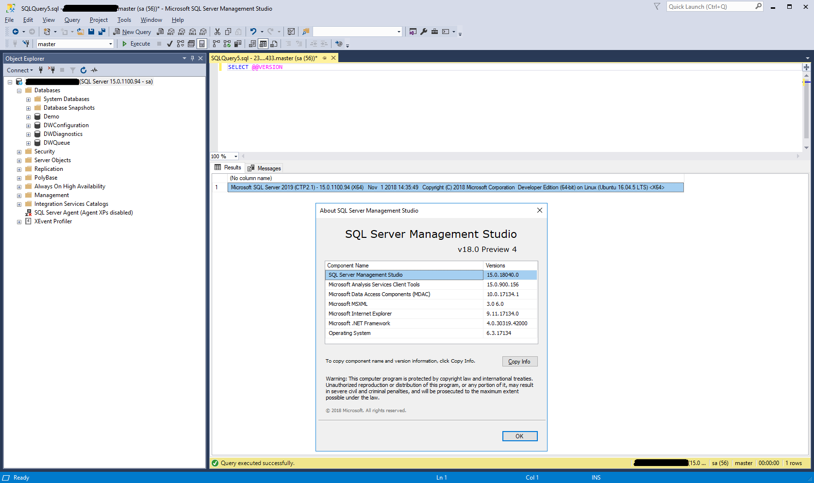 Interacting with SQL Server 2019 Big Data Clusters – Welcome