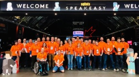 SQLBits 2019 Thursday helper team.